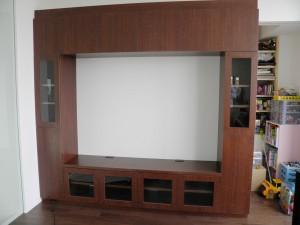テレビボード取付