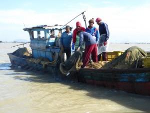 漁業の様子