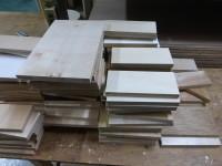 板材の準備