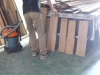 木材の整理作業 その2
