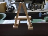 Aの積み木(左が未研磨右が研磨済)