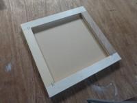 黒い箱(実験箱)の天板