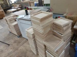 木箱の板部分