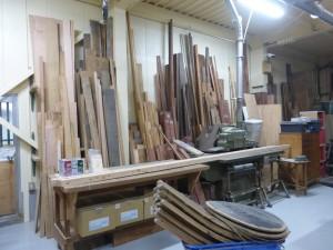 様々な木材
