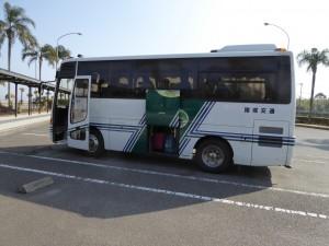 諸塚交通のバス
