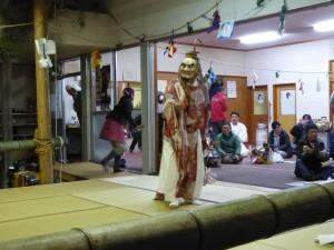 諸塚村の夜神楽