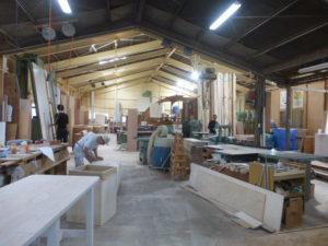 箭木木工所さんの全体風景です。