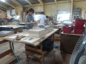 木材の組み合わせ