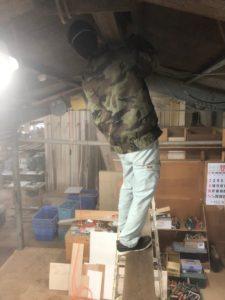 箭木木工所のボス!