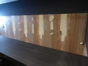 壁工事 家具