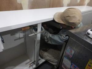 家具取付 連結作業