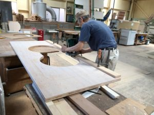 家具製作中 天板