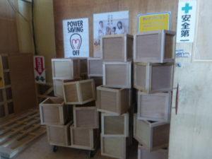 実験用木箱を作成