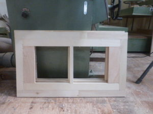 収納棚板 芯材組み