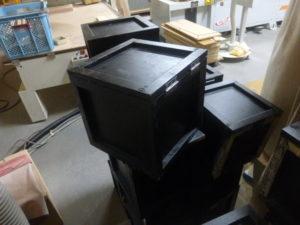 組みあがった箱