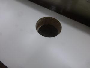 シンクの穴