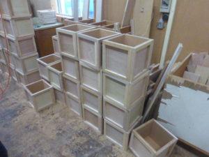 実験用木箱